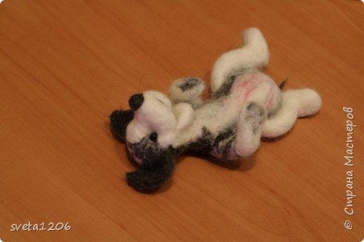 Вот такой песик был свалян в подарок на день рождения дочурки))) фото 2