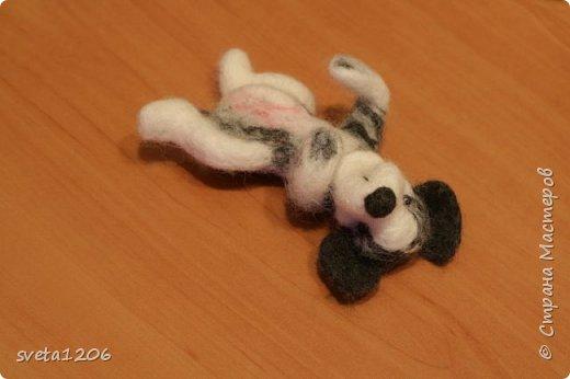Вот такой песик был свалян в подарок на день рождения дочурки))) фото 1