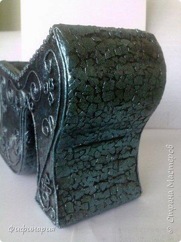 Мечта мужа.Фальш-камин полностью из картона. Столешница из дерева. фото 24