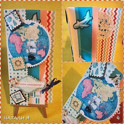 Открытки-конверты ручной работы в единственном экземпляре фото 4