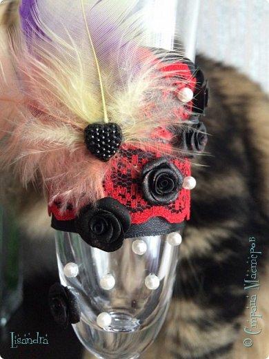 Захотелось мне с перьями поэкспериментировать, ну и с кружевом)) фото 3