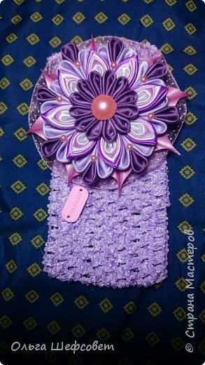 С этого ободка всё началось:)))) Пыталась сделать внучке платье феи на Новый год. фото 19