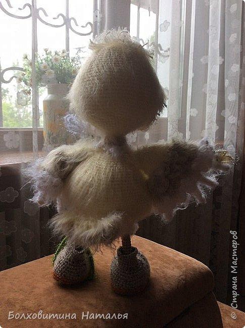 Совенок ромашковый, связан по МК Светланы Романенко, сайт Амигуруми фото 6