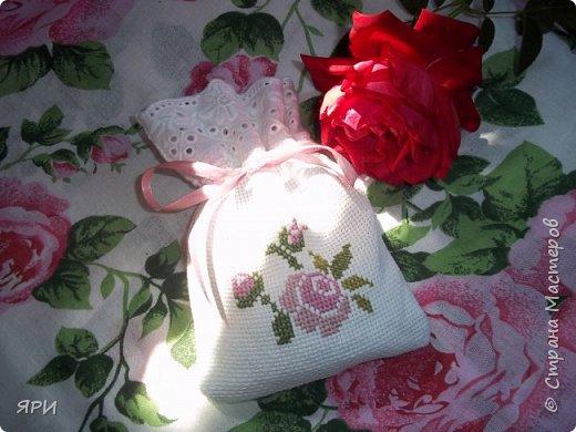 Вышила мешочек-саше в подарок сестре. фото 2