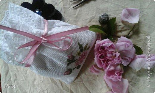 Вышила мешочек-саше в подарок сестре. фото 1