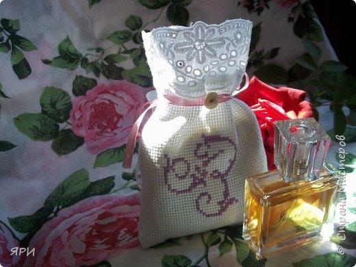 Вышила мешочек-саше в подарок сестре. фото 3