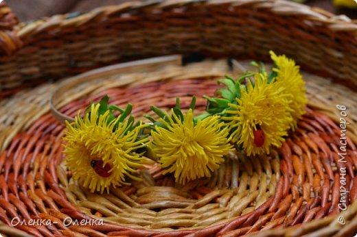 Лето, солнышко, цветочки- одни из любимых это одуванчики. Заколочки для маленьких принцес. фото 2
