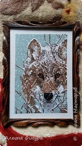 Работы моей дочери,вышивка бисером на холсте. фото 11