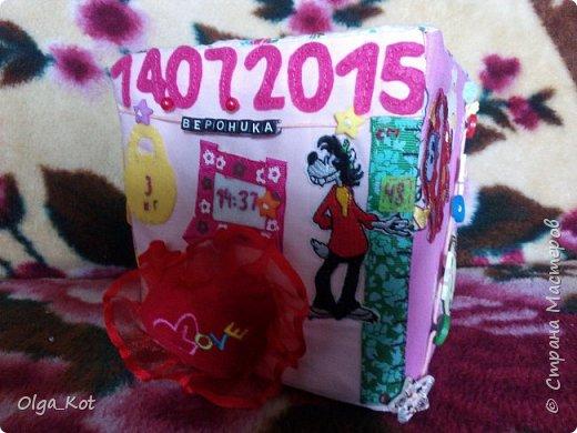 Вот и готовы мои кубики к Дню Рождения доченьки.  фото 59