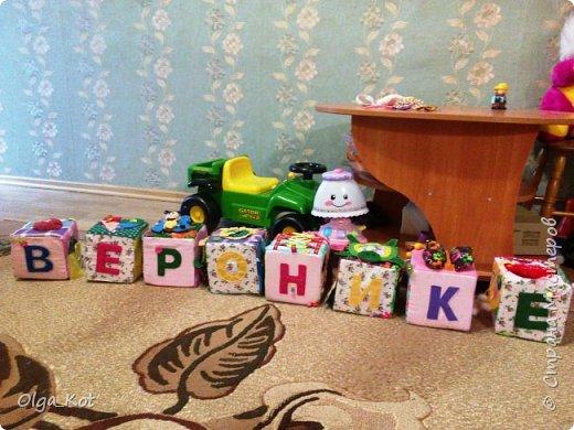 Вот и готовы мои кубики к Дню Рождения доченьки.  фото 2