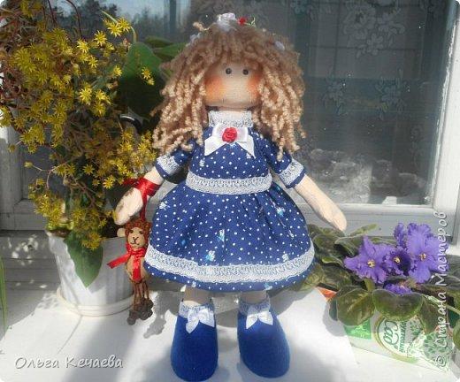 Кукла для маленькой блондинки. фото 1