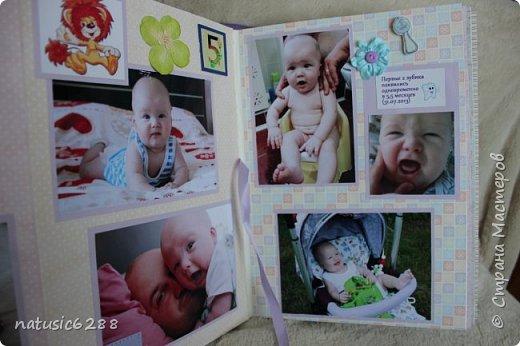 """Фотоальбом """"Первый годик жизни сына"""" фото 11"""