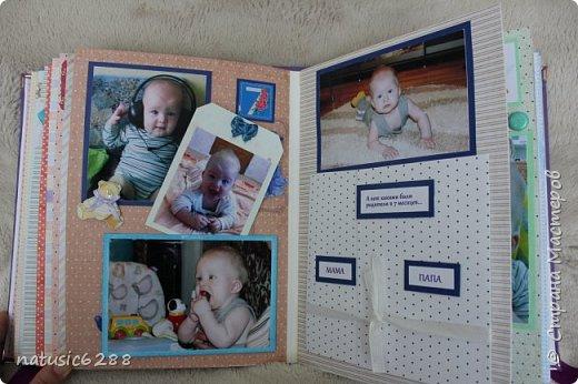 """Фотоальбом """"Первый годик жизни сына"""" фото 14"""