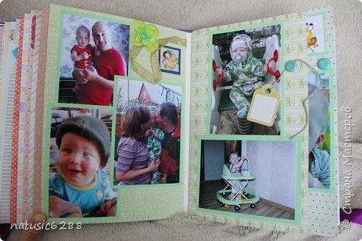 """Фотоальбом """"Первый годик жизни сына"""" фото 15"""