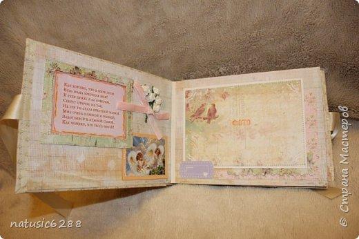 Альбомы-близнецы созданы для крестной мамы и для крестного папы малышки Марии. фото 3
