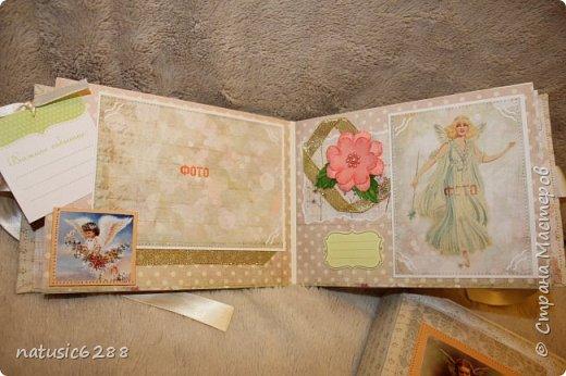 Альбомы-близнецы созданы для крестной мамы и для крестного папы малышки Марии. фото 5