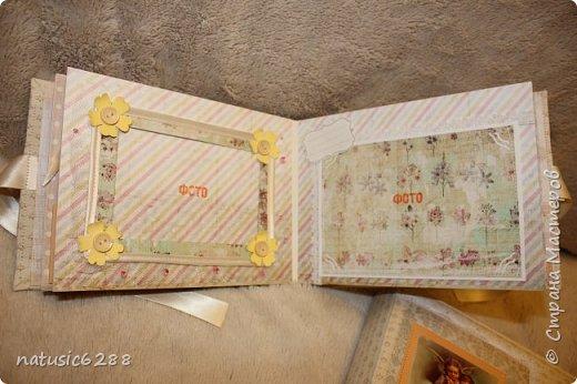 Альбомы-близнецы созданы для крестной мамы и для крестного папы малышки Марии. фото 6