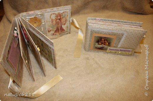 Альбомы-близнецы созданы для крестной мамы и для крестного папы малышки Марии. фото 2