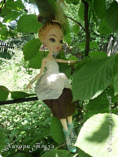 """Всем салют))) Сшила для Алексы платье и сделала плюмаж, а еще""""подправила"""" ее покупные туфли. фото 4"""