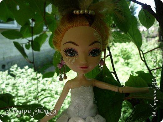 """Всем салют))) Сшила для Алексы платье и сделала плюмаж, а еще""""подправила"""" ее покупные туфли. фото 6"""