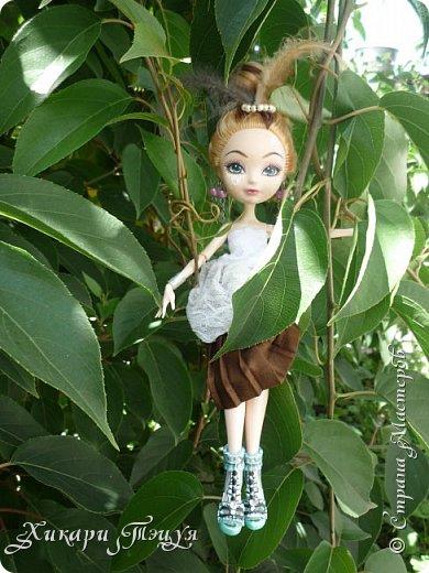"""Всем салют))) Сшила для Алексы платье и сделала плюмаж, а еще""""подправила"""" ее покупные туфли. фото 7"""