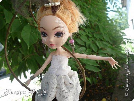 """Всем салют))) Сшила для Алексы платье и сделала плюмаж, а еще""""подправила"""" ее покупные туфли. фото 13"""