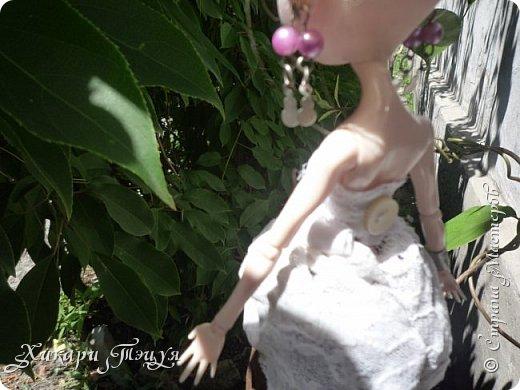 """Всем салют))) Сшила для Алексы платье и сделала плюмаж, а еще""""подправила"""" ее покупные туфли. фото 14"""
