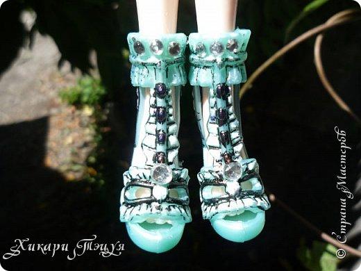 """Всем салют))) Сшила для Алексы платье и сделала плюмаж, а еще""""подправила"""" ее покупные туфли. фото 16"""