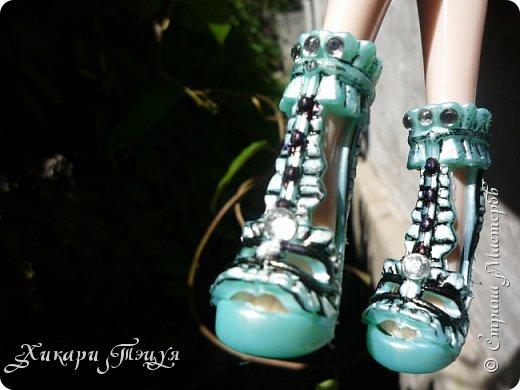 """Всем салют))) Сшила для Алексы платье и сделала плюмаж, а еще""""подправила"""" ее покупные туфли. фото 18"""
