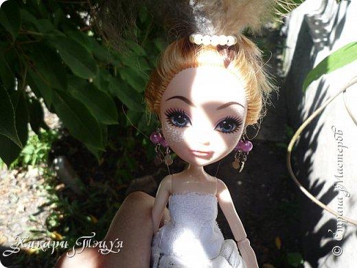 """Всем салют))) Сшила для Алексы платье и сделала плюмаж, а еще""""подправила"""" ее покупные туфли. фото 20"""