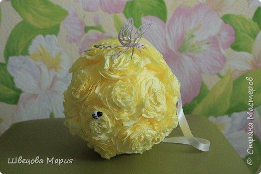 Маленькие подвесные шарики с пайетками - снежинками фото 11