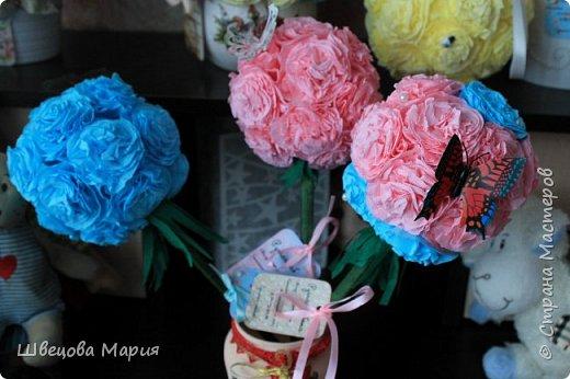 Розовая композиция с бабочкой фото 7
