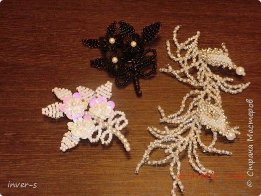Периодически занимаюсь вязанием бисерных жгутов и  украшением из бисера. К Новому году, на одном дыхании, сделала ёлочку из бисера) Вот решила показать несколько работ. фото 5
