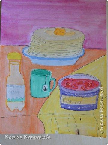 У каждого есть хобби,у меня рисование и шитьё. Какое хобби у вас? Этот  рисунок я рисовала в художественной школе! Груша и апельсин. фото 9