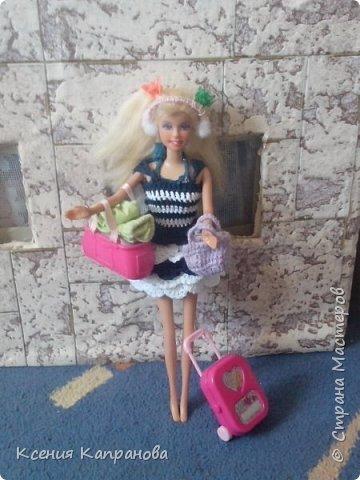 Привет!!! Наконец я создаю первую запись в блоге! Это моя кукла Элизабет. Она захотела вместе со мной на пляж и прихватила свои вещички. фото 1