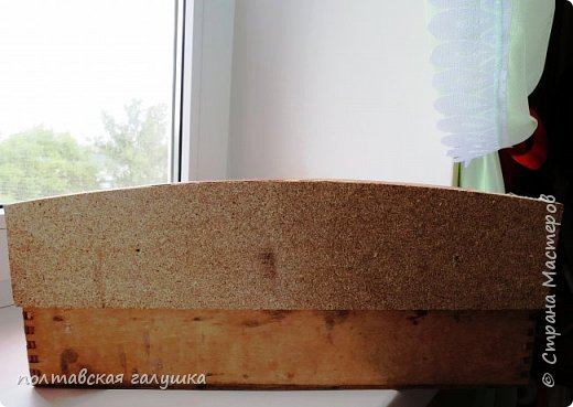 Вот такая полочка на кухонное окно сотворилась у меня по мотивам французской полочки, найденной зятем в Париже и высланной мне дочерью. фото 6