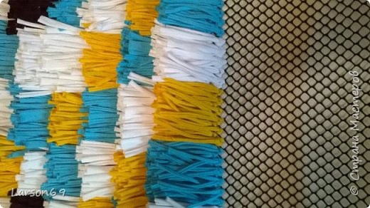 Сделала ещё один ковёр подруге на день рождения. фото 3