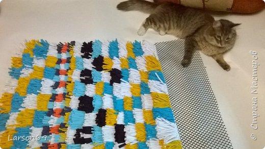 Сделала ещё один ковёр подруге на день рождения. фото 4