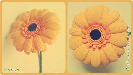 Ободочек с оранжевой розой. фото 9