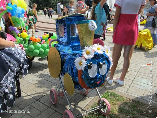 парад колясок в Курчатове 2015 фото 1