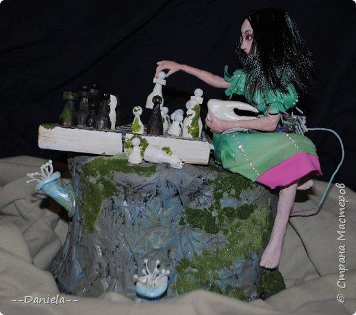 Очередная Алиса (все та же Madness returns) теперь вот подводная Сирена... с шахматами) фото 2