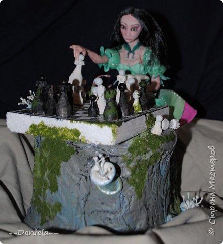 Очередная Алиса (все та же Madness returns) теперь вот подводная Сирена... с шахматами) фото 4