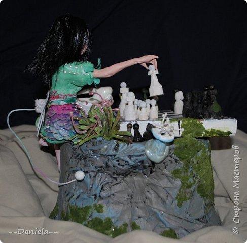 Очередная Алиса (все та же Madness returns) теперь вот подводная Сирена... с шахматами) фото 6