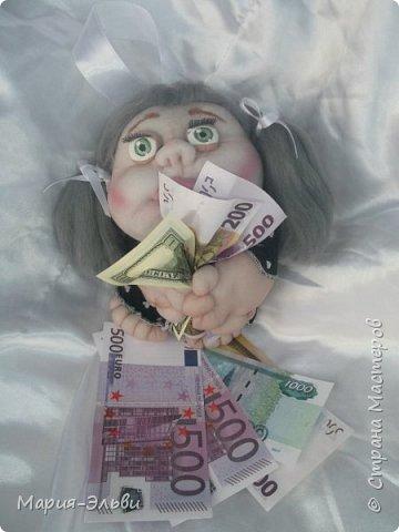 Здравствуйте, Страна Мастеров! Воспользовавшись советами Ольги Запоновой создала новую куклу -попика фото 3