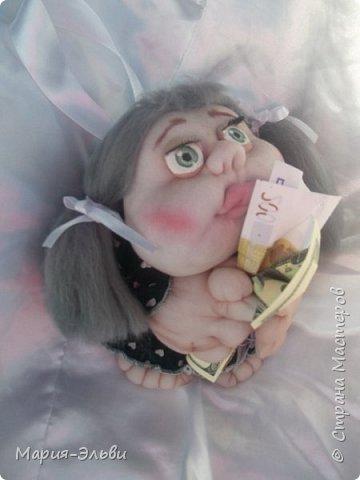 Здравствуйте, Страна Мастеров! Воспользовавшись советами Ольги Запоновой создала новую куклу -попика фото 1