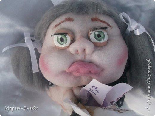 Здравствуйте, Страна Мастеров! Воспользовавшись советами Ольги Запоновой создала новую куклу -попика фото 2