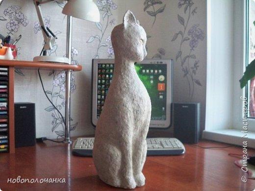 Дочь попросила сделать  кошку на окно. Как  и  из чего эта кошка сделана,  показано в моём   МК. фото 33