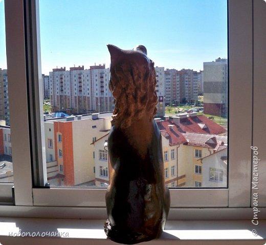 Дочь попросила сделать  кошку на окно. Как  и  из чего эта кошка сделана,  показано в моём   МК. фото 53