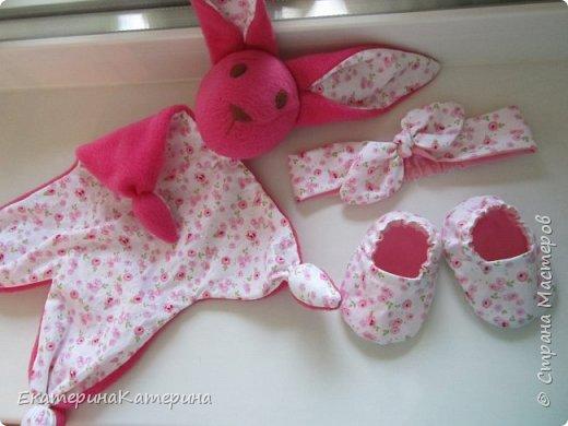 Розовый набор для малышки) фото 1