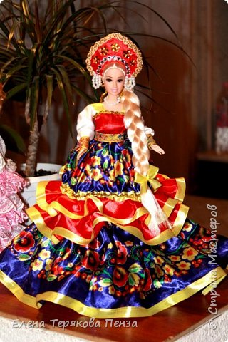 Куклы-шкатулки в русском-народном стиле фото 8